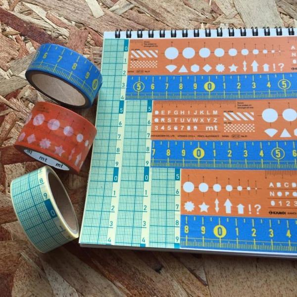 セリアのメジャー柄マスキングテープ