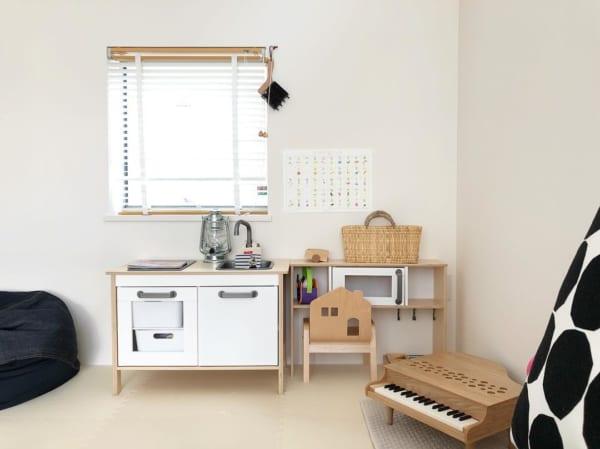 IKEAのアイテムを使用したおもちゃ収納63