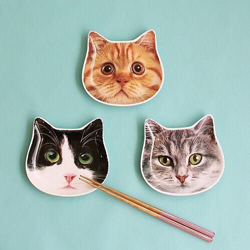 CouCouの猫型プレート