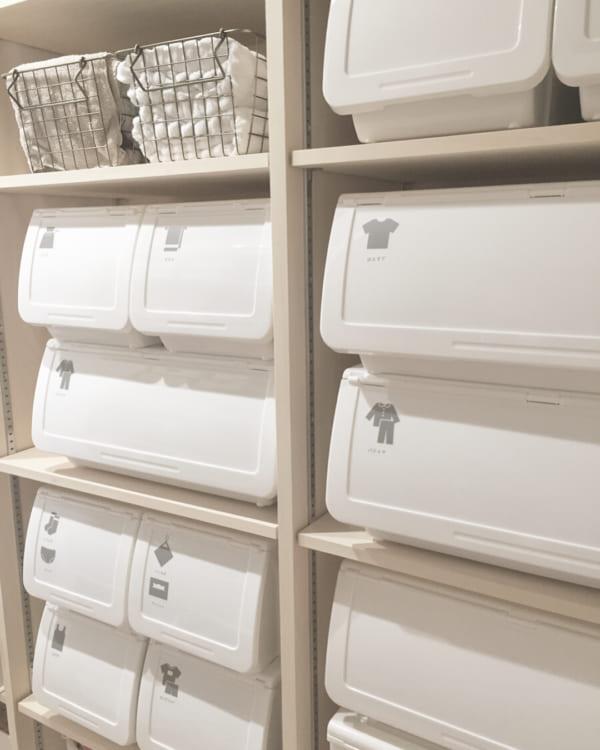 ニトリ・セリア・キャンドゥのアイテムで洗面所をすっきりと収納7