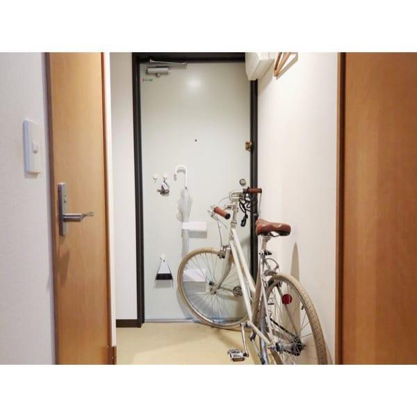 一人暮らし 玄関収納2