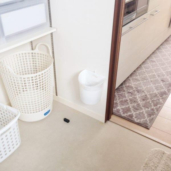 ニトリ・セリア・キャンドゥのアイテムで洗面所をすっきりと収納8