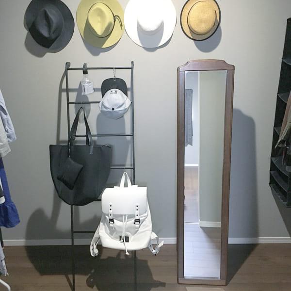 洋服収納 ディスプレイ ラダーハンガー