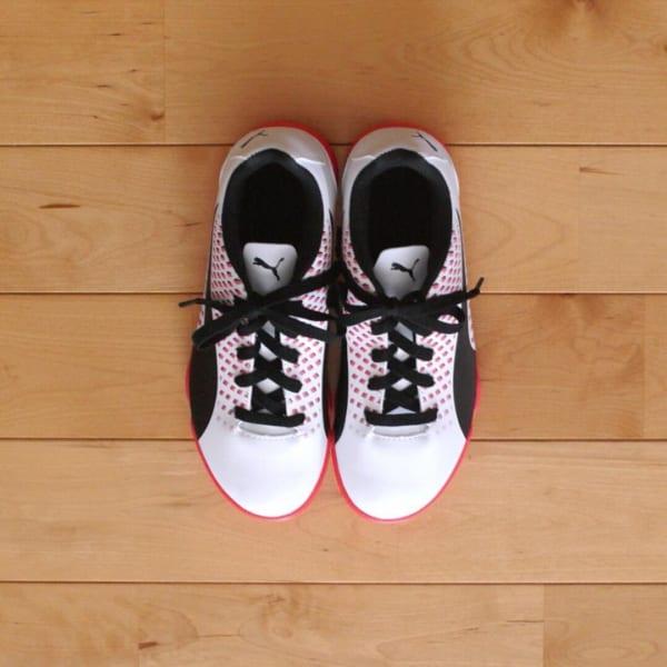 セリア伸び~る靴ひも