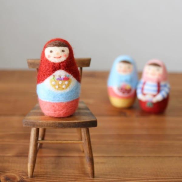 手作りおもちゃ マトリョーシカ人形
