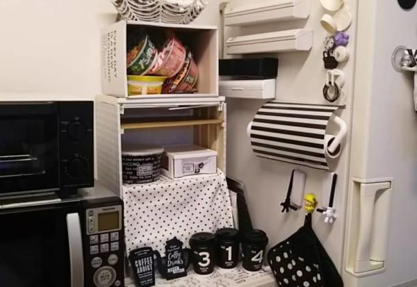 プチリメイク キッチン収納棚