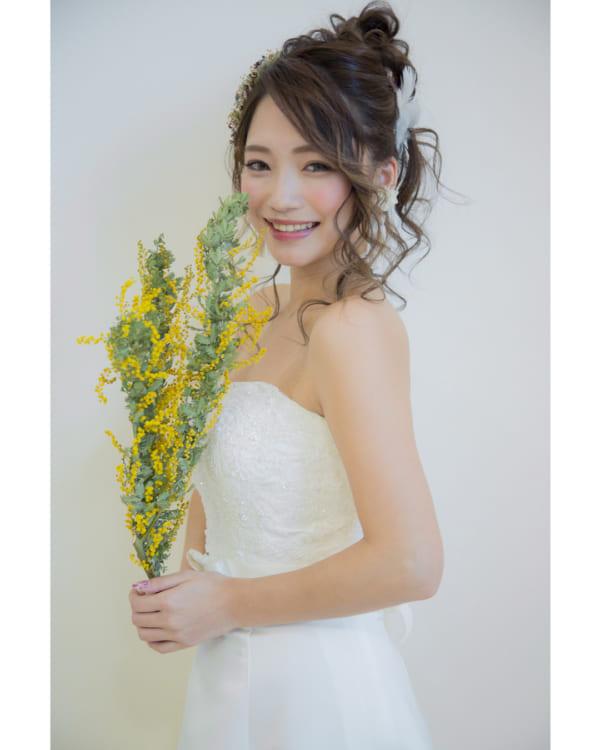花嫁シニヨン4
