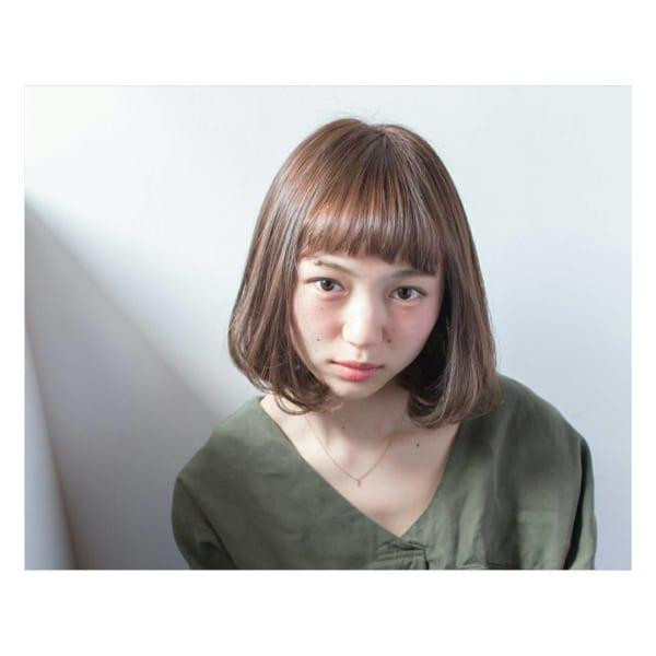 前髪短めボブ・ミディアムボブ11