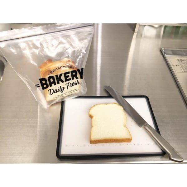 セリア キッチングッズ フリーザーバッグ 食パン