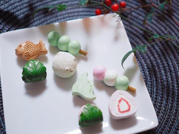 和菓子モチーフマグネット(3COINS)