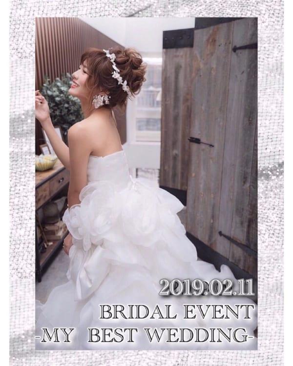 花嫁シニヨン5