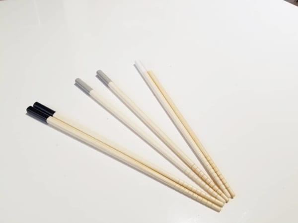 セリアのモノトーンのお箸