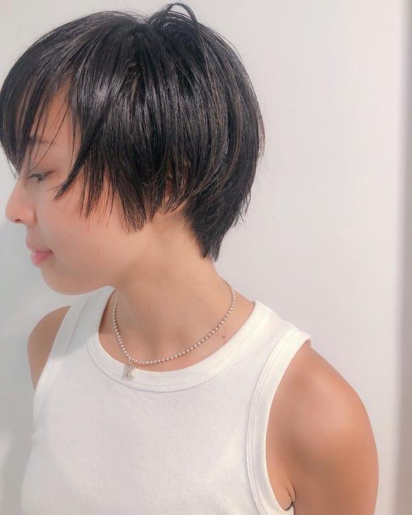 グラデーションボブ 黒髪4