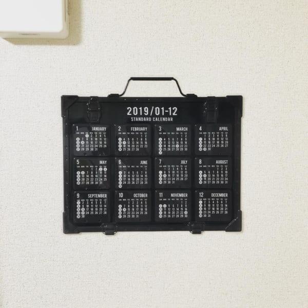 100円ショップで人気のカレンダー5