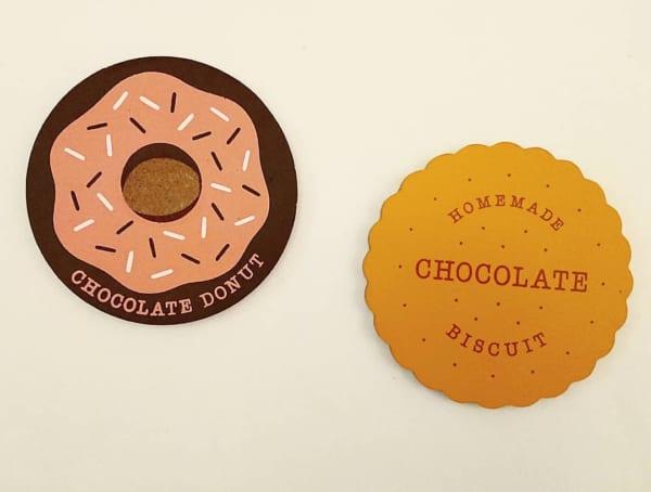 キャンドゥのチョコレートシリーズ・コースター