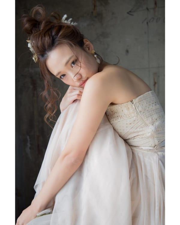 花嫁シニヨン6