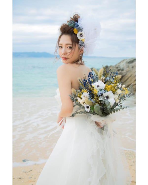 花嫁シニヨン7