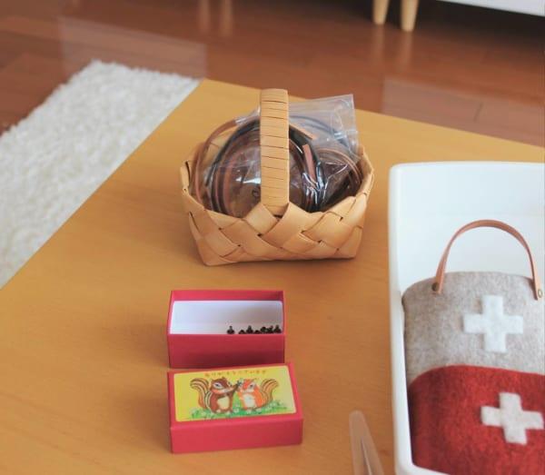 裁縫道具収納 空き箱