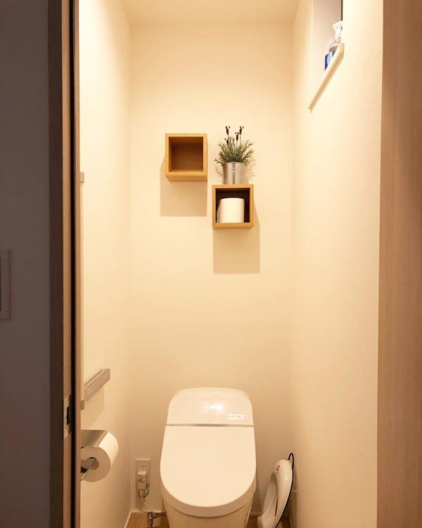 無印の壁に付けられる家具は収納に便利!8