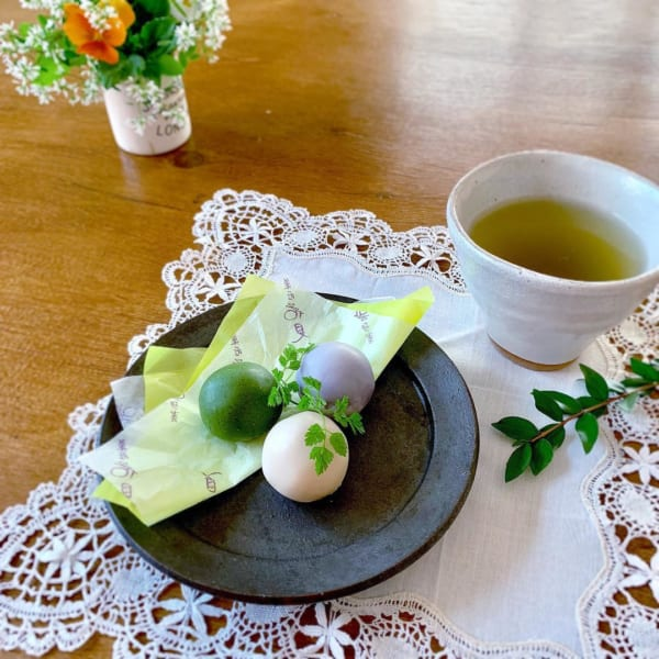 おやつサーブ 菓匠花見の白鷺宝