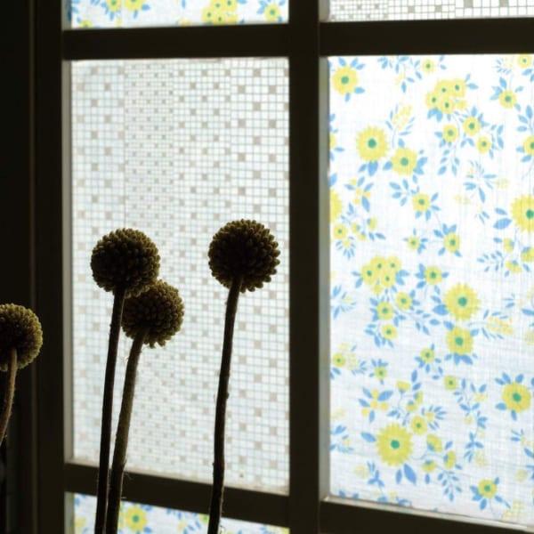パステルカラー 春インテリア 窓用マスキングテープ