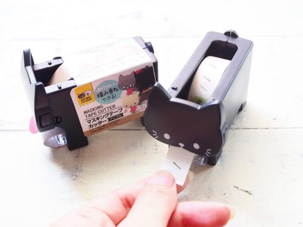 キャンドゥ ねこモチーフ マスキングテープカッター