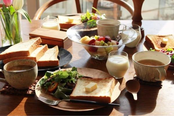 朝ごはん カフェ風盛り付け8