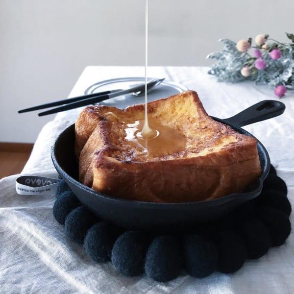 スキレット フレンチトースト