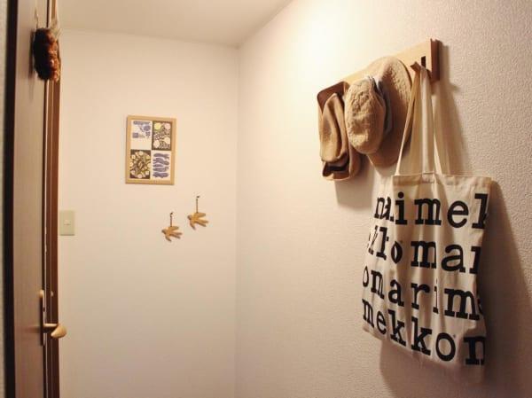 無印の壁に付けられる家具は収納に便利!10