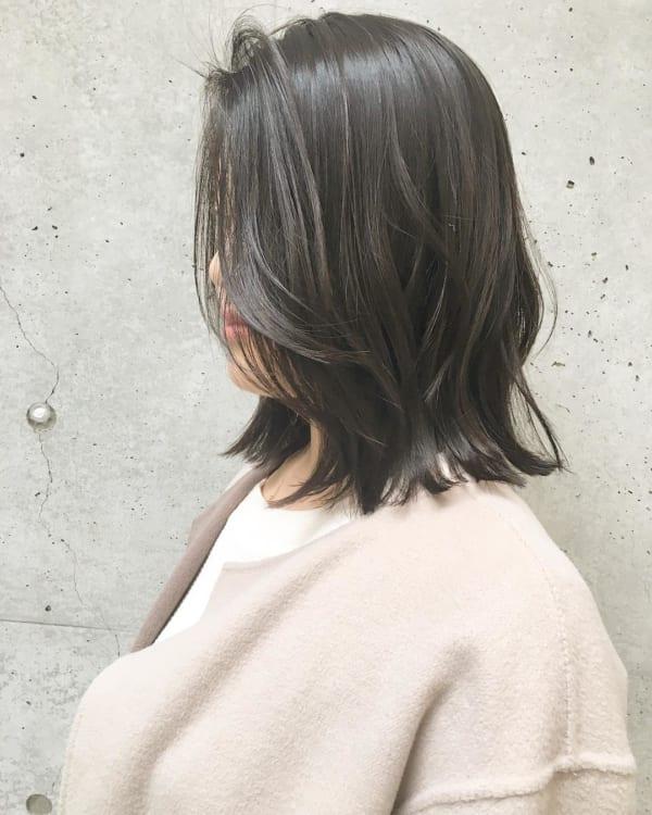 長めボブのおしゃれなヘアスタイル59
