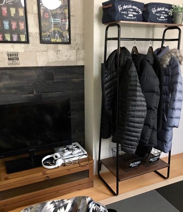 コート収納③その他のコートの収納実例5