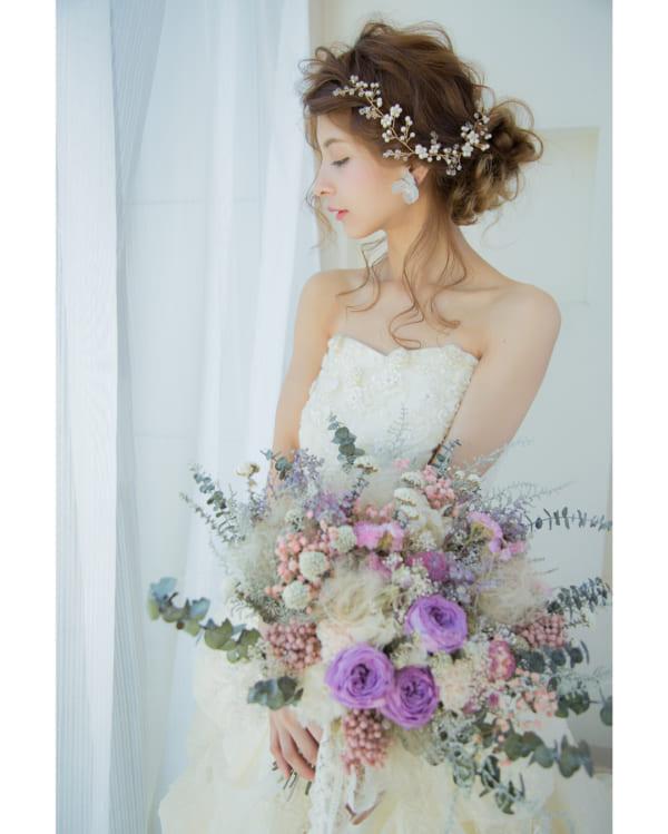 花嫁シニヨン9