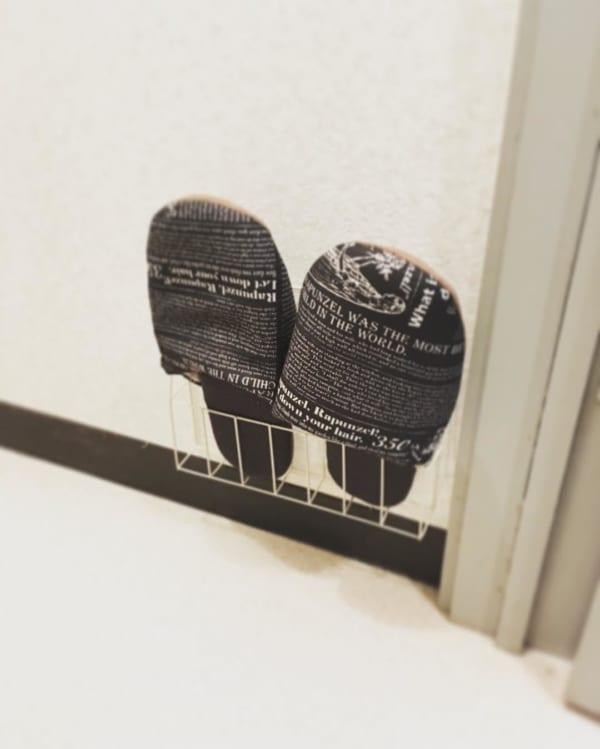 【トイレ】のスリッパ収納術