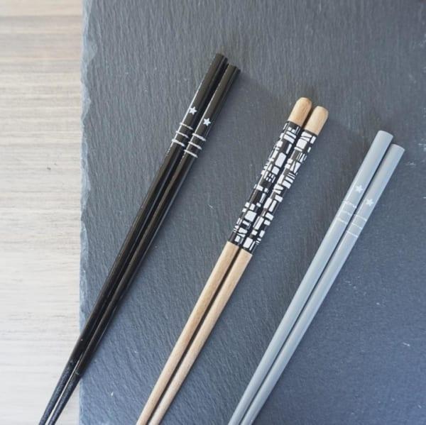 モノトーン箸(ダイソー)