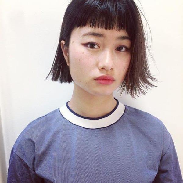 ぱっつんワイドバング16