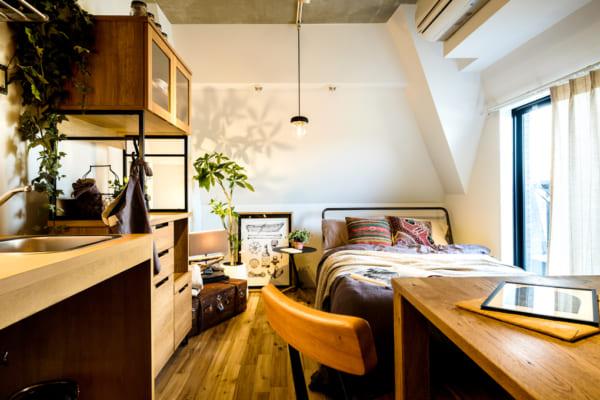 一人暮らし 家具 ベッドのサイズ