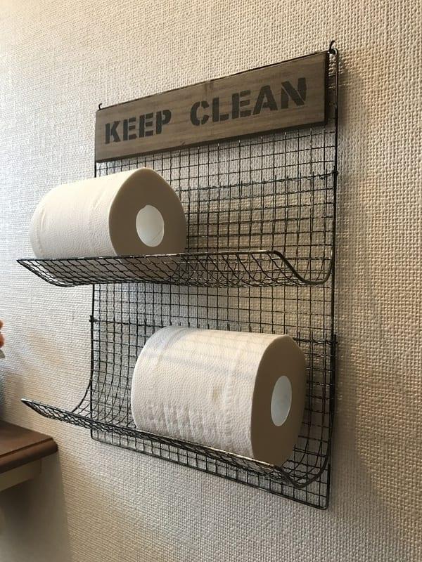 トイレ収納DIY