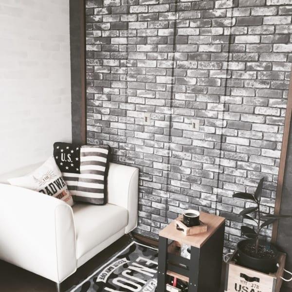 お部屋のDIYアイデア⑤壁紙を張り替えて部屋のイメージを変える19