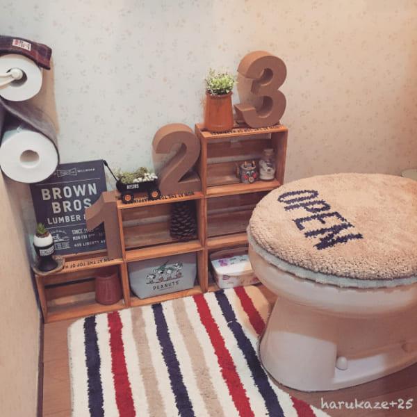 トイレ収納DIY3