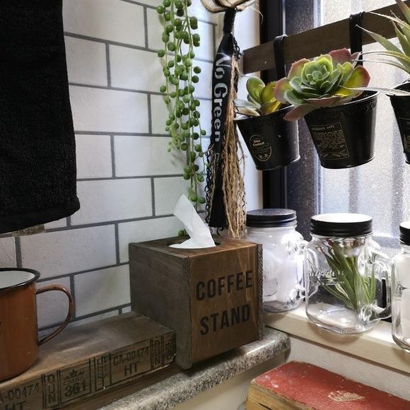 セリア コーヒードリップスタンド 木材 DIY