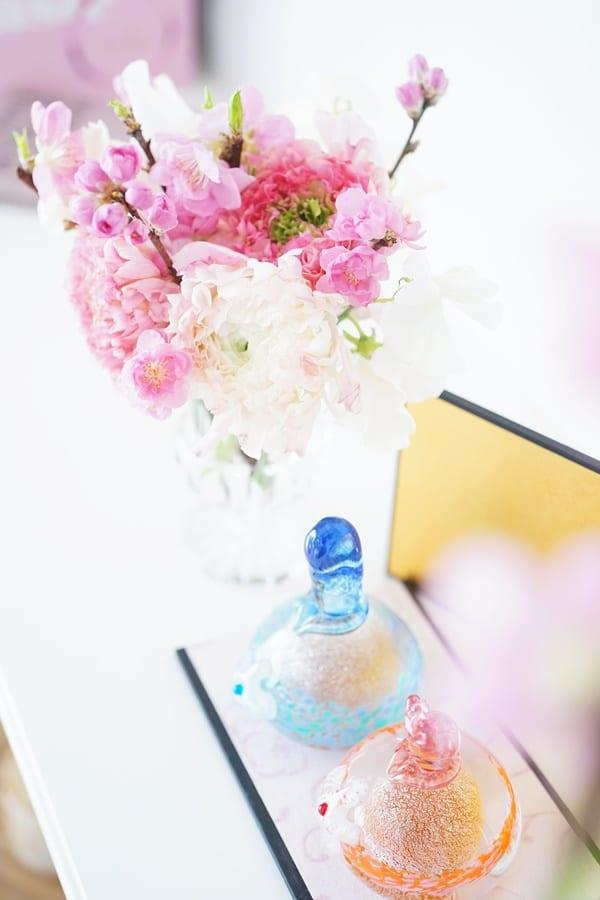 ひな祭り 花飾り