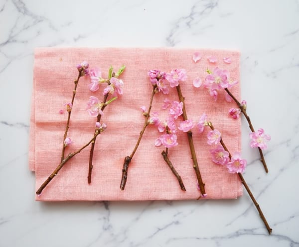 ひな祭り 花飾り アレンジアイディア2