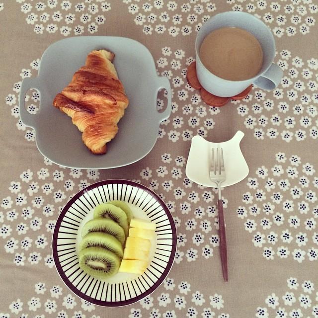 パンがメインの朝食シーン8