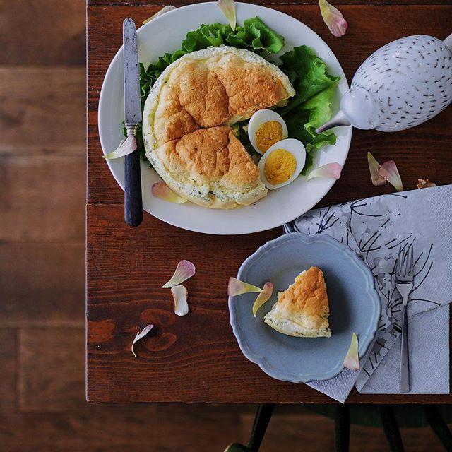 ゆで卵のケーキ