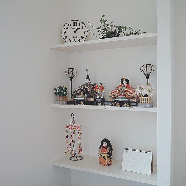 ひな人形ディスプレイ 飾り棚