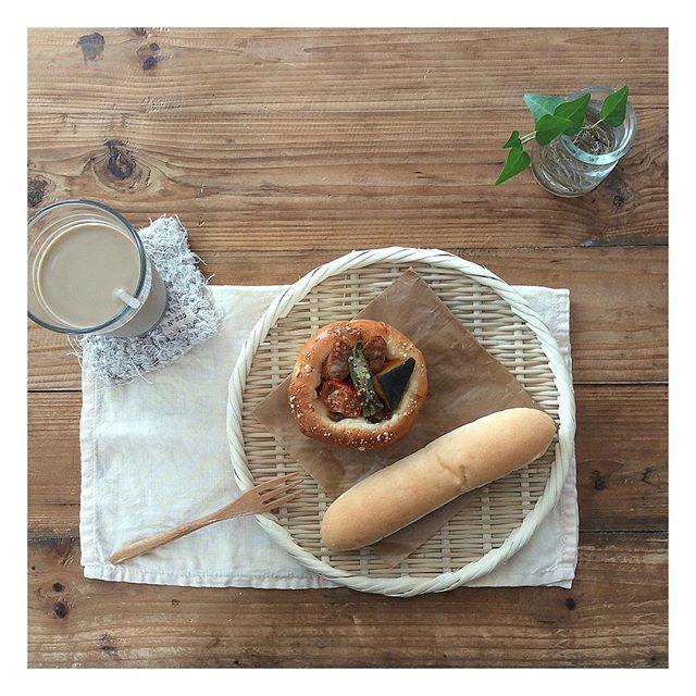 パンがメインの朝食シーン14