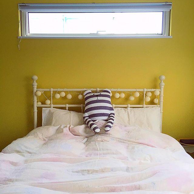 寝室 ぬいぐるみ