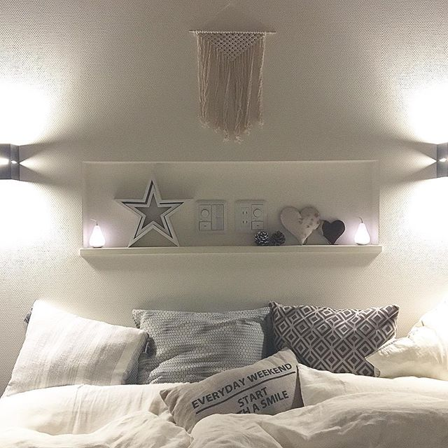 寝室インテリア ホワイトインテリア