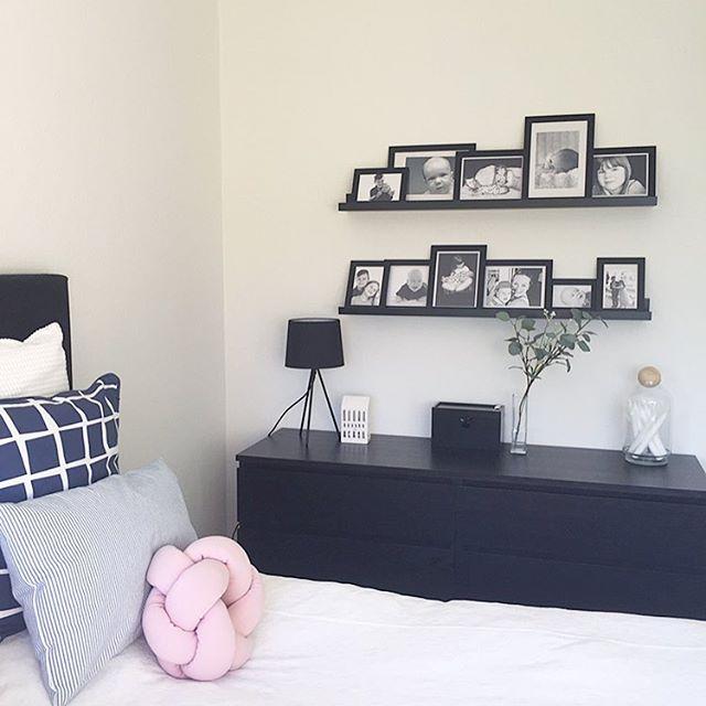 寝室インテリア 黒