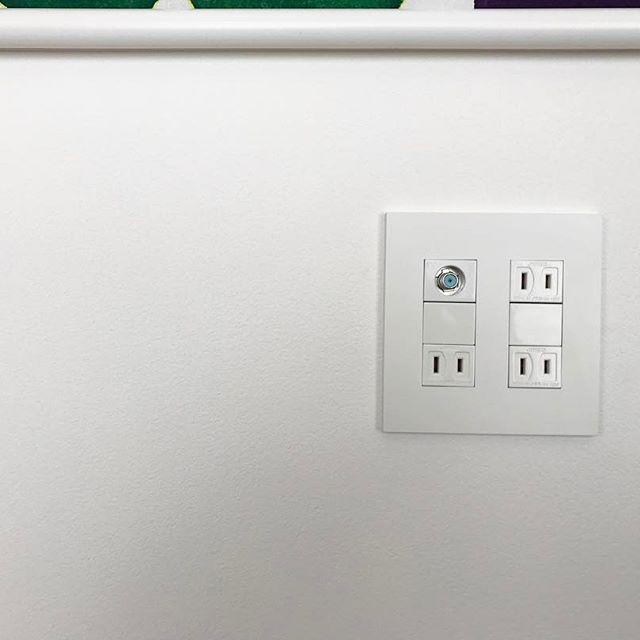 壁掛けテレビの配線を隠す方法16